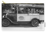 1928 Chevy Half Ton Pick Up In Black And White Carry-all Pouch