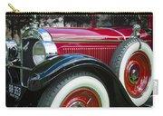 1928 Hupmobile Century Model E4 4 Door Sedan Carry-all Pouch