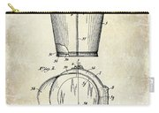 1928 Milk Pail Patent Drawing Carry-all Pouch