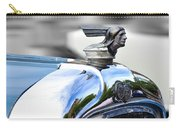1928 Pontiac Hood Ornament And Badge Carry-all Pouch