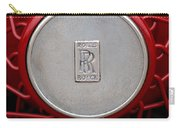 1928 Rolls-royce Phantom I Sedenca De Ville Wheel Emblem Carry-all Pouch