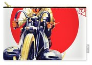 1929 - Bmw Motorcycle Poster - Color Carry-all Pouch