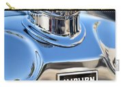 1929 Auburn 8-90 Speedster Hood Ornament Carry-all Pouch