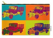 1929 Blue Chevy Truck 1 Ton Pop Art Carry-all Pouch