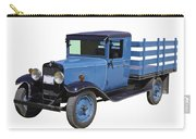 1929 Blue Chevy Truck 1 Ton Stake Body Carry-all Pouch