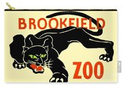 1930 - Brookfield Zoo Poster - Boston - Color Carry-all Pouch