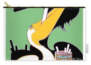 1930 - Pelican Cigarettes French Advertisement Poster - Color Carry-all Pouch