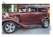 1930 Ford Two Door Sedan Side View Carry-all Pouch