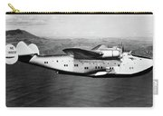 1930s 1940s Pan American Clipper Flying Carry-all Pouch by Vintage Images