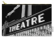 1930s 1940s Theater Marquee Theatre Carry-all Pouch