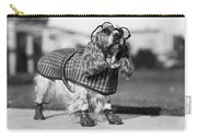 1930s Cocker Spaniel Wearing Glasses Carry-all Pouch