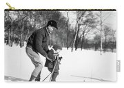 1930s Father & Son Man Wearing Jacket Carry-all Pouch