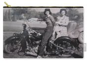1930's Indian Motorcycle Mama Carry-all Pouch