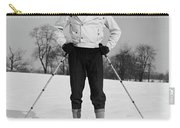 1930s Man Looking At Camera Posing Carry-all Pouch