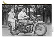 1930s Motorcycle Touring Carry-all Pouch