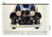 1931 - Packard Automobile Advertisement - Color Carry-all Pouch