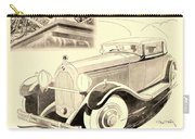 1931 - Talbot French Automobile Advertisement Carry-all Pouch