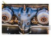 1931 Bentley 4.5 Liter Supercharged Le Mans Engine Emblem Carry-all Pouch