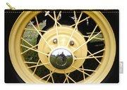 Antique Car Tire Rim Carry-all Pouch