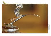 1931 Lasalle Hood Ornament Carry-all Pouch by Jill Reger
