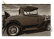 1931 Model T Ford Monochrome Carry-all Pouch by Steve Harrington