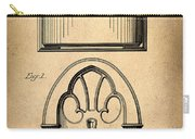 1931 Philco Radio Patent Carry-all Pouch