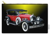 1931 Willys Knight Plaid Side Carry-all Pouch