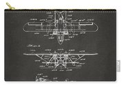 1932 Amphibian Aircraft Patent Gray Carry-all Pouch
