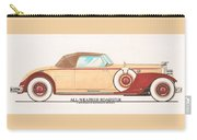 1932 Packard All Weather Roadster By Dietrich Concept Carry-all Pouch