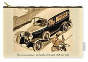 1933 - Chevrolet Commercial Automobile Advertisement - Old Gold Cigarettes - Color Carry-all Pouch