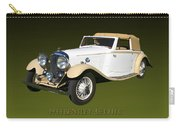 1933 Bentley 3  5  Liter Drop Head Coupe Carry-all Pouch