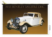 Bentley Derby D H C  Carry-all Pouch