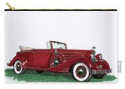 1933 Cadillac Convert Victoria Carry-all Pouch