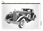 Cadillac Victoria V 16 Convertible Carry-all Pouch