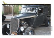 1933 Ford Two Door Sedan Front And Side View Carry-all Pouch