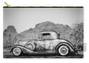 1933 Pontiac -0008bw Carry-all Pouch