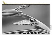 1933 Pontiac Hood Ornament - Emblem -0385bw Carry-all Pouch