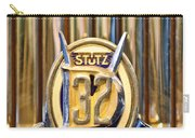 1933 Stutz Dv-32 Five Passenger Sedan Emblem Carry-all Pouch