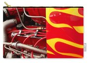 Hot Rod Art Work And Engine Carry-all Pouch