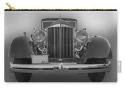 1934 Packard Black And White Carry-all Pouch