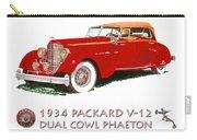 1934 Packard V-12 Dual Cowl Phaeton Carry-all Pouch
