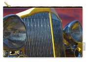 1934 Packard With Posterized Edge Texture Carry-all Pouch
