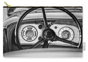 1935 Auburn 851 Supercharged Boattail Speedster Steering Wheel -0862bw Carry-all Pouch