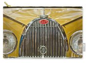1935 Bugatti Type 57 Roadster Grille Carry-all Pouch by Jill Reger