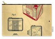 1935 Kodak Camera Casing Patent Carry-all Pouch