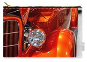 1935 Orange Ford-front View Carry-all Pouch
