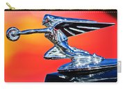1935 Packard Hood Ornament -0295c Carry-all Pouch