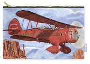 Monument Valley Bi-plane Carry-all Pouch