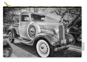 1936 Chevrolet Pick Up Truck Painted Bw   Carry-all Pouch