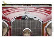 1936 Mercedes-benz 540k Mayfair Special Roadster Grille Carry-all Pouch
